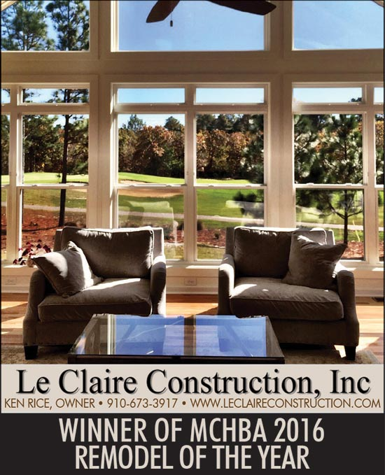 LeClaire Construction owner Ken Rice awards 2016 MCHBA Home Remodel of the Year