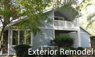 We remodel home exteriors, siding, roof tops, and more